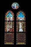 okulary oznaczony przez okno Fotografia Royalty Free