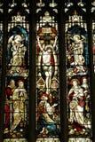 okulary oznaczony przez okno Fotografia Stock