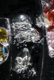 okulary pęcherzyków Zdjęcie Royalty Free