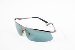 okulary przeciwsłoneczne białe tło Zdjęcie Stock