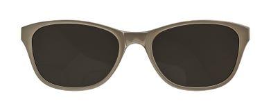 okulary przeciwsłoneczne białe tło Fotografia Stock