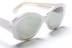 okulary przeciwsłoneczne biały Zdjęcia Royalty Free