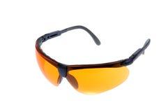 okulary przeciwsłoneczne kolor żółty Obraz Royalty Free