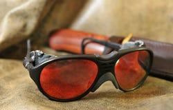 Okulary przeciwsłoneczni - lotnicy obraz royalty free