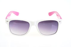 Okulary przeciwsłoneczni odizolowywający na bielu Obrazy Royalty Free