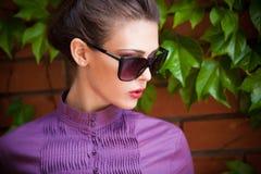 Okulary przeciwsłoneczni portret Obraz Royalty Free