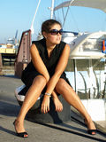 okulary przeciwsłoneczne kobieta Zdjęcie Stock