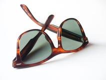 okulary przeciwsłoneczne retro wayfarer Obraz Stock