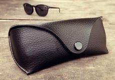 Okulary przeciwsłoneczni skrzynka Obraz Royalty Free