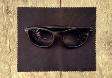 Okulary przeciwsłoneczni skrzynka Obrazy Stock