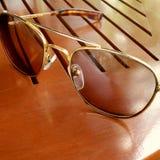 Okulary przeciwsłoneczni vintagestyle Fotografia Royalty Free