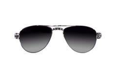 Okulary przeciwsłoneczni z odosobnionym Zdjęcia Stock