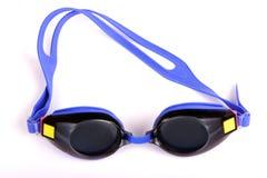 okulary swimmning zdjęcie royalty free