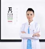 Okulista, Optometrist/ zdjęcia stock