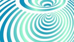 Okulistycznego złudzenia fala wykłada tło Op sztuki wektoru ilustracja Zdjęcie Royalty Free