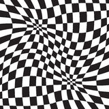 Okulistycznego złudzenia geometryczny tło Zdjęcie Royalty Free