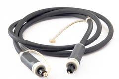 Okulistyczny audio kabel zdjęcie stock