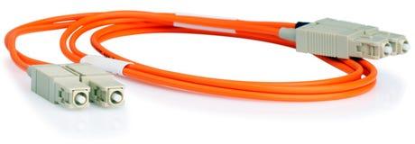 okulistyczny kablowy włókno Obraz Royalty Free