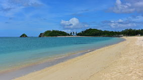 Okuma strand i OKinawa Royaltyfria Bilder