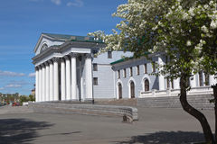 Okunev Palace. Nizhny Tagil. Sverdlovsk region. Royalty Free Stock Photography