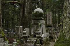 Okunoin cemetary Stock Photos