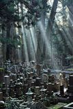 Okunoin Cemetery Royalty Free Stock Image