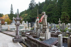Okunoin Cemetery in Wakayama, Japan Royalty Free Stock Photography