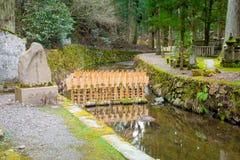 Okunoin, temple de cimetière de Koyasan, Wakayama, Japon Images stock