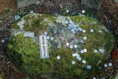 Okunoin Temple with Graveyard Area at Koyasan (Mt. Koya) in Wakayama Royalty Free Stock Photography
