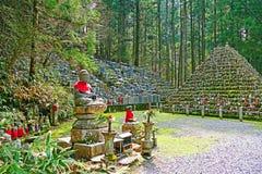 Okunoinbegraafplaats in Koyasan Stock Foto