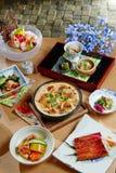 Okura prestiż Taipei Yamazato japończyka kuchnia Obraz Royalty Free