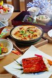 Okura prestiż Taipei Yamazato japończyka kuchnia Obrazy Royalty Free