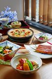 The Okura Prestige Taipei Yamazato Japanese Cuisine Stock Photo