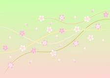 okwitnięcie czereśniowy ilustracyjny Sakura Obrazy Stock