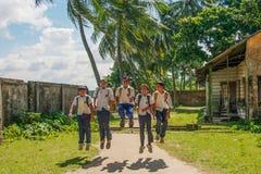 Okynnigt Man-barn Fotografering för Bildbyråer