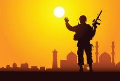 Olá!, Bagdade! Foto de Stock Royalty Free