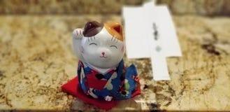 Olá! gato Imagens de Stock