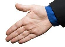 Olá! gesto Imagens de Stock