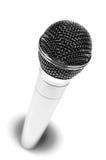 Olá! mic metálico Imagens de Stock Royalty Free