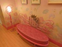 Olá! sofá da vaquinha Imagens de Stock Royalty Free