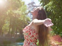 Olá! Sun! Fotografia de Stock