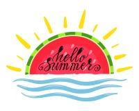 Olá! verão Foto de Stock
