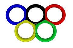 Olímpico Fotos de Stock Royalty Free