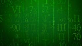Olśniewać cyfry w Holograficznej cyberprzestrzeni ilustracji