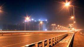 Olśniewa światło latarnia uliczna Zdjęcie Royalty Free