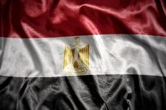 olśniewająca egipcjanin flaga fotografia royalty free