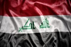 olśniewająca irakijczyk flaga Obraz Stock