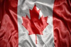 olśniewająca kanadyjczyk flaga fotografia royalty free