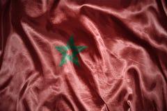 olśniewająca marokańska flaga Obraz Stock