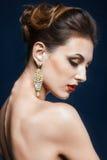 Olśniewający twarzy makeup Obraz Royalty Free